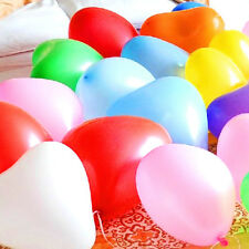 Heart-Shape Balloons Helium Quality Red Pink Yellow Love Propose