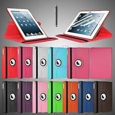 360 Rotating PU Leather Smart Cover Swivel Stand Case for Apple iPad Air 5 5th