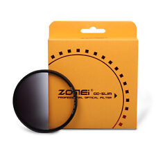 Zomei Slim Optical Resin 40.5/49/52/55/58/62/67/72/77/82mm Graduated ND4 Filter