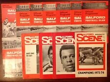 Salford Rugby League Programmes 1965 - 1994