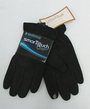 NEW ISOTONER SMART TOUCH GLOVES FAUX FUR LINED BLACK CHOOSE SIZE $50