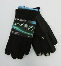 NEW ISOTONER SMART TOUCH 2.0  GLOVES NON SLIP  BLACK CHOOSE SIZE $50