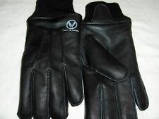 US WW2 Army Air Force A10 Flying Gloves Soft Lambskin Fleece Lined Logo S,M,L,XL