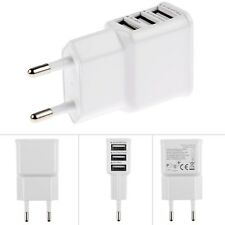 3 Port Dual USB Home Wall Charger Adapter Accessory For Samsung Phones Devices