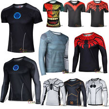 Maevel Exciting Heroes T-shirt Superhero Cycling Jersey Costume Tee Shirt Tops