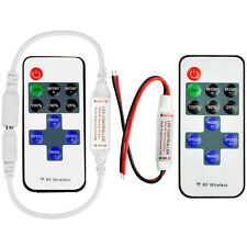 Wireless RF Remote Controller Dimmer Control For Single Color LED Strip 12-24V