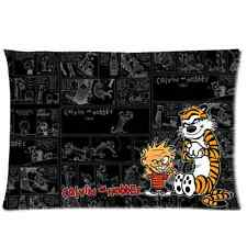 New Design With Calvin And Hobbes Rectangle Pillowcase 20x30 20x36(one side)