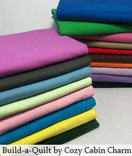 """Solid Color Flannel Fabric (1 yard 36"""" x 42"""") *29 Color Choices* FREE SHIPPING"""