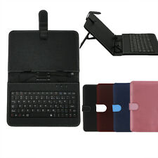 "Stand Leather Case Cover with USB Keyboard For 7"" inch Android Tablet PC NEW"