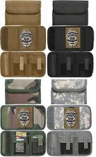 Men's Wallet Deluxe With Badge Holder Tri-Fold ID Commando Wallet