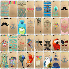 Soft Gel Silicone Painted Pattern Skin Case Cover For iPhone 4 4S 5 5S 6 6 Plus
