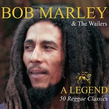 BOB MARLEY & AND THE WAILERS - LEGEND 50 GREATEST HITS - VERY BEST OF 3 CD NEW