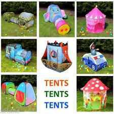 Children's Playtent Play House Kids Play Tents Indoor Outdoor various styles