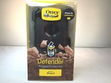 NEW Black OTTERBOX DEFENDER Case & Belt Clip for APPLE iPHONE 6 in Package