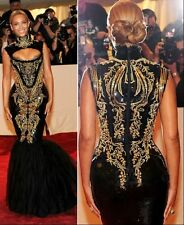 New Celeb fashion Myriam Fares/Beyonce  Style Prom,Bridal,Evening Dress