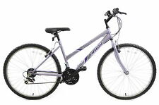"26"" LADIES GIRLS TRAKATAK MOUNTAIN BIKE 18 SPEED IN 16 18 20"" FRAMES LILAC"