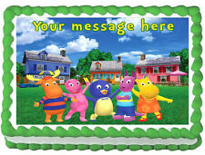 THE BACKYARDIGANS Image Edible Cake topper Decoration
