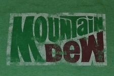 Mountain Dew Logo Tee by SAVVY Soda Pop T-Shirt Brand New Officially Licensed