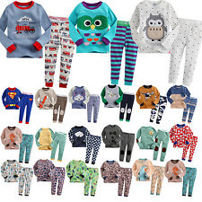 """53 Styles"" Vaenait Baby 2T-7T Toddler Boys Clothes Sleepwear Pyjama 2 pcs Set"
