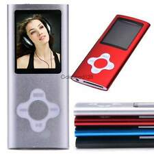 "8GB 8G Slim Mp3 Mp4 Player With 1.8"" LCD Screen, FM Radio, Video, Games & Movie"
