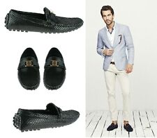 MENS GENTS BOYS ITALIAN LOAFERS MOCCASIN DRIVING CASUAL PARTY SLIP ON SHOES SIZE