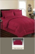 DOWN ALTERNATIVE 4 PC BED SET TWIN, 5 PC BED SET QUEEN & KING, 8 COLORS