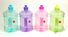 BPA Free Water Bottle Half Gallon Drinking Gym Canteen Jug Container 64 oz