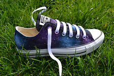 Galaxy Converse - Hand Painted & Made to Order. Men/women/kids Lo