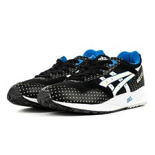 ASICS GEL SAGA BLACK/GLOW IN THE DARK GID SNEAKERS H4A0N-9007 SHOES BRAND NEW