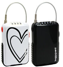 NEW Buggyguard Anti-Theft Retractable Stroller Lock Deco Black or Deco Heart