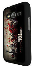Walking Dead Zombie Blood The Dead Assault 144 SAMSUNG Galaxy ace 4 Case Cover