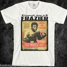 boxing t shirt, Muhammad Ali, cassius clay, vs George foreman, vs joe frazier