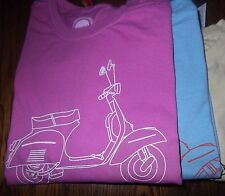 Vintage Vespa Moped T shirt. The Scooter life, is good.NWT Tee. Parts Cover