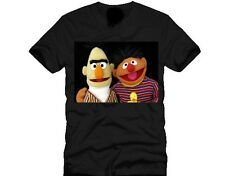 T SHIRTS-BERT AND ERNIE-FUNNY,PRESENT-AVAILABLE IN 6 COLOURS