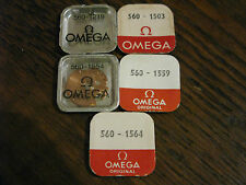 Omega Calibre 560 NOS Parts - See List for full details - All parts new & sealed