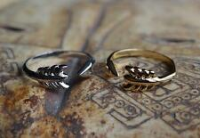 NEW STELLA & AND DOT GILDED ARROW RING SILVER GOLD