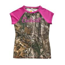 Carhartt CA9301 Girls Force Camo Raglan T-Shirt