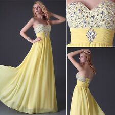 NEW Wedding Dress Evening Dress Bridesmaid Dress Gown Prom Party Dress IN 8SIZE