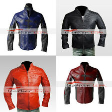 Superman Smallville Different Colors Pure Leather Jacket - Free Shipping