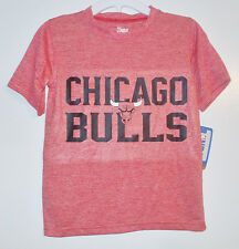 NBA Chicago Bulls Boys T-Shirt Basketball Sizes XS, Sm, Med, Lg and XLg NWT
