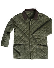 hoggs of fife quilted jacket/lauderdale green