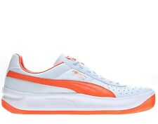 Puma GV Special Men's Walking Tennis Shoes White Orange All Sizes 34356969