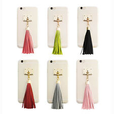 Didipop iPhone 6/ 6 Plus Case Transparent Fitted Cover Tassel 6Colors Made Korea