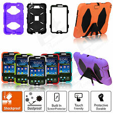 NEW SURVIVOR MILITARY HEAVY DUTY TOUGH SHOCK PROOF CASE COVER FOR SAMSUNG TABLET