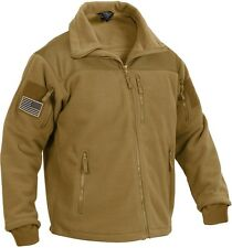 Coyote Brown Military Police Marines Special OPS Tactical Fleece Jacket 96680