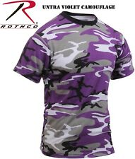Ultra Violet Camouflage Tactical Military Short Sleeve T-Shirt 60176