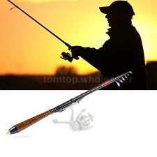 Super Tight Carbon Telescopic Fishing Rod Travel Spinning Lure Rod/Raft Pole