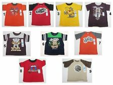 NEW Garanimals  T Shirts Tops Toddler Kids Baby Boys Size:18,24 Months,3T,4T,5T