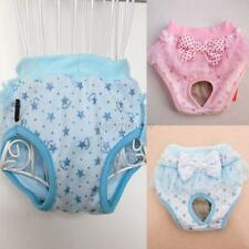 Pet Dog Cute Bowknot tighten Sanitary Physiological Pants Pet Underwear Diapers