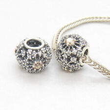 New Authentic  Silver  Inner Radiance Charm